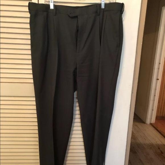 69cb7575 Savane Dress Pants Comfort Flex Waist 38x30 Gray